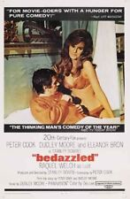 BEDAZZLED - 1968 - 27x41 orig 1-sheet Movie Poster - Smoking HOT RAQUEL WELCH
