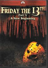 FRIDAY THE 13th PART 5 A NEW BEGINNING *2001 DVD* RARE*NEW *SEALED