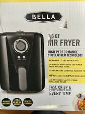 Bella 1.6-Qt. Air Convection Fryer Air Fry, Bake, Saute, Steam Grill, Roast NEW