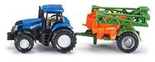 New Holland With Crop Sprayer - Die-Cast Vehicle - Siku 1668