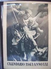 CALENDARIO 1943 ANNO XXI - FASCISMO - SAN MICHELE ( CO7 )