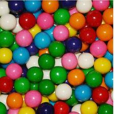"""Assorted Gumballs Bulk Vending Gum Balls .56"""" 14mm 1 Pound Approx 275pcs"""
