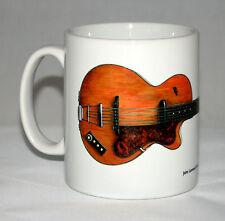 Guitar Mug. John Lennon's Hofner Club 40 illustration.