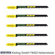 25 Festool Stichsägeblätter S 75/4 K 486965 Kurven