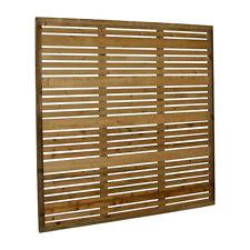 Contemporary Garden Screens / Modern Fence Panels, the Milan, 180cm x 150cm