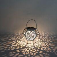 Solarleuchte Solarlampe Gartenstrahler Hängelaterne Solar Laterne Solardiamant
