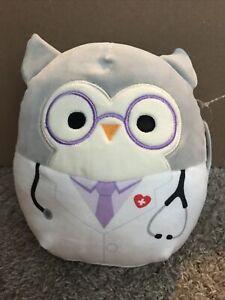 """Squishmallow """"Hoot"""" The Owl Kellytoy 8"""" Plush"""