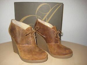 Enzo Angiolini Shoes 10.5 M Womens New Flory Medium Natural Leather Ankle Boots