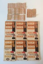 Vintage Stamp Book 6 Gold Bond Antique Collectible Booklet Canadian Edition Home