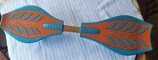 Razor RipStik Brights 2 Wheel Twisty 360  Deg. Caster Board Orange and Teal Blue