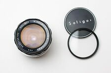 Soligor Wide-Auto 28mm f/2.8 Lens for M42 Filter & Caps NEX Micro 4/3 (#1897)