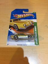 Hot Wheels Treasure Hunt STUDEBAKER AVANTI 2011 #5 Near-Mint Card Rare MOC