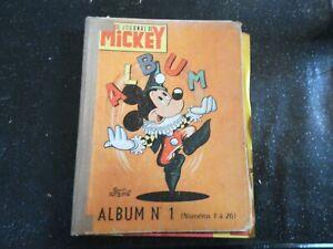 Album le journal de Mickey no 1..