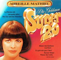 (CD) Mireille Mathieu - Die Goldenen Super 20 - Akropolis Adieu, Aloa-He, u.a.
