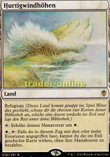 Hurtigwindhöhen (windbrisk Heights) Commander 2016 Magic