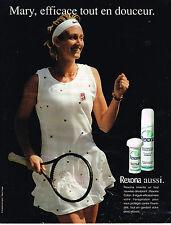 PUBLICITE ADVERTISING 094  1997  REXONA déodorant  MARY PIERCE