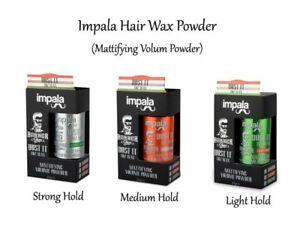 Mattifying&Volume Powder Hair Styling Texturising Dust It Wax by Impala& NMB