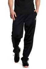 Umbro Men's Sweat Pant Drawstring Sport Pants Black Size Xl Regular Fit