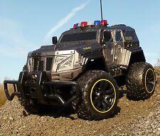RC Jeep SWAT POLICE mit LICHT & AKKU 1:12 Länge 39cm Ferngesteuert 27MHz 403170