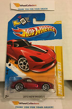 2013 Viper SRT #11 * RED * 2012 Hot Wheels * E25