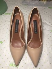 Tan / Beige Steve Madden Pumps / Heels - Size 6 B, Slightly Used