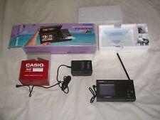 Casio Liquid Crystal 2.6� Pocket Color Television Tv-2000