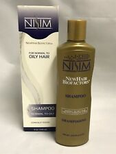 Nisim New Hair Biofactors Shampoo For Normal To Oily Hair 8 oz.