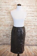 Modcloth Mics, Camera, Action Skirt NWT  8 Black Sequined Pencil BB Dakota