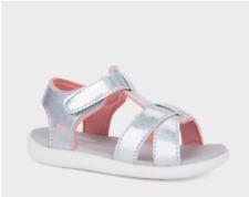 See Kai Run Basics Shayna Fisherman Sandals - Silver Iridescent - Toddler Size 8