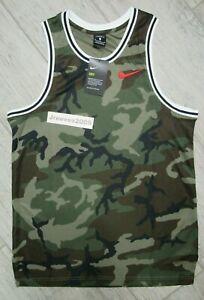 NWT Nike Dry DNA Camo Jersey Sz Medium - Men's 100% Authentic CD7713 222