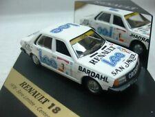 WOW EXTREMELY RARE Renault 18GTX Soto Champion Argentina 1987 1:43 Vitesse-Spark
