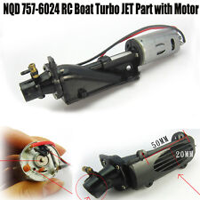 New NQD 757-6024 RC Boat Turbo JET Part with 390 Motor Accessory