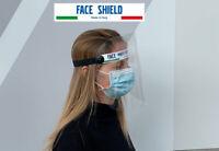 Schermo di Protezione Facciale. Ripara il viso contro spruzzi e schizzi
