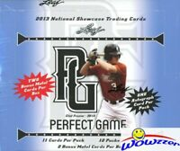 2013 Leaf Perfect Game Showcase Baseball Factory Sealed HOBBY Box-12 AUTOGRAPHS!