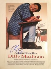 ADAM SANDLER AUTOGRAPHED BILLY MADISON 12x18 PHOTO MOVIE POSTER, NICE AUTOGRAPH