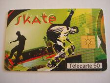 PHONECARD TELECARTE SPORT SKATE BOARD