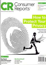 Consumer Reports November 2016 HOW TO PROTECT YOUR PRIVACY Ratings SUVs Coffee