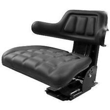 REPLACEMENT TRACTOR FLIP UP SEAT FOR JOHN DEERE  WITH SLIDE TRACKS & SUSPENSION