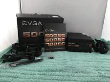 EVGA 600BQ 80+ Bronze 600W Semi Modular FDB Power Supply - USED