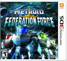 Nintendo Metroid Prime: Federation Force - First Person Shooter - (ctrpbcae)