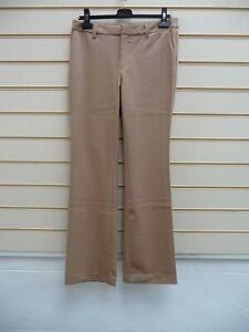 "Bodyflirt Ladies Trousers Size 10 Camel Bootcut Inside Leg 33"" BNWOT G051"