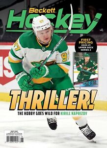 New JUNE 2021 Beckett HOCKEY CARD PRICE GUIDE Magazine w/KIRILL KAPRIZOV  42128
