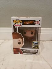 2015 SDCC #214 The Flash Unmasked Funko Pop Hero Exclusive RARE.