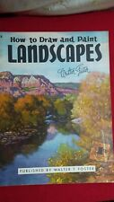 Vintage Walter Foster How to Draw and Paint Landscapes Book #8 Printed in USA