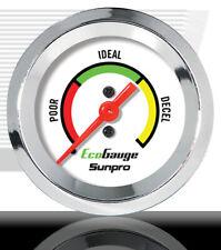 Fuel Economy Gauge Sunpro Cp8221 Chrome Bezel 2 Backlit Incl Tubefittings