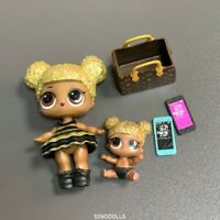 with Lil Queen Bee LOL Surprise Dolls Glitter Queen Bee Series 1 Color Changed