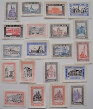 Netherlands - 20 different stamps of Cities and towns in the Netherlands (1)