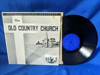 """The Glad Tidings Quartet LP """"The Old Country Church"""" Indiana Private Gospel RARE"""