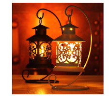 Iron Moroccan Style Candlestick Candle Holder Candle Stand Light Home Decoration