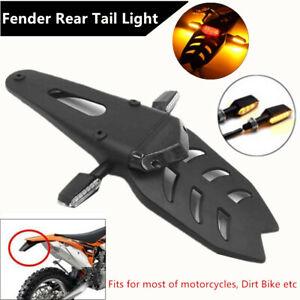 Off-road Motorcycle LED Fender Turn Signal Light Brake Tail Rear Light Dirt Bike